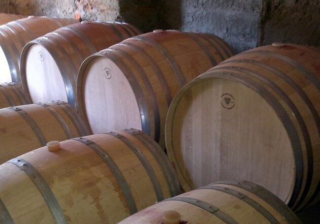 Some barrels from our cellar